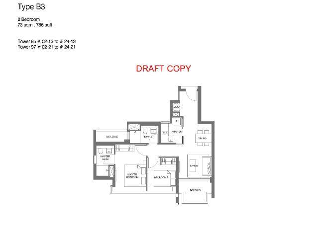 Principal Garden Floor Plan Showroom Hotline 65 61007688