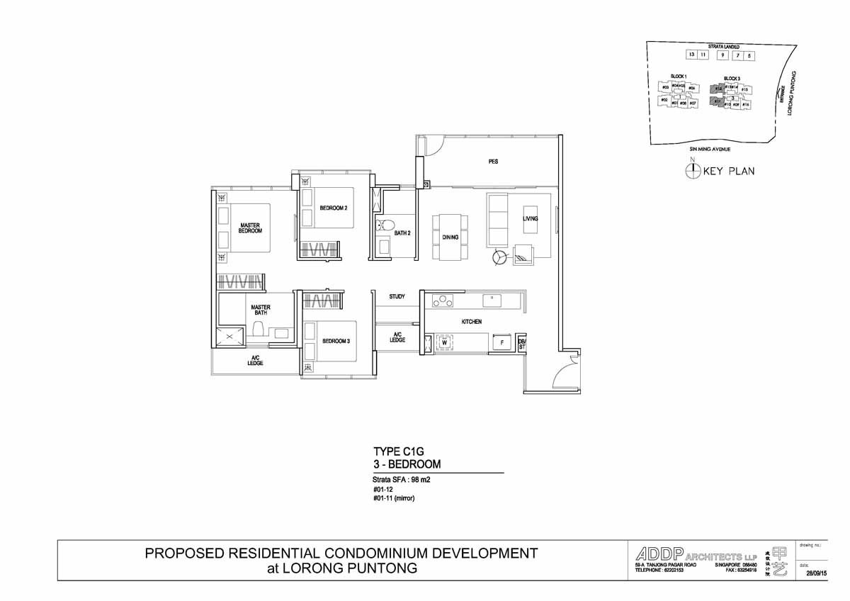 Thomson Impressions Floor Plan Showroom Hotline 65 61007688