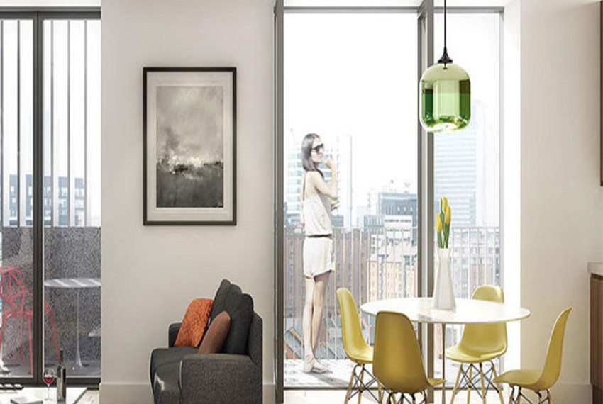 Oxygen Manchester Terace View