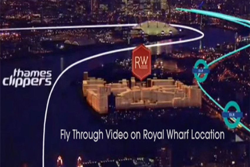 Royal Wharf London Overlook